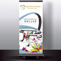 Rollup Banner  100 x 200 cm